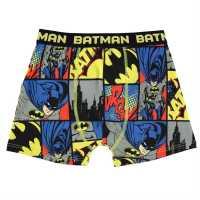 Character Детски Боксерки 1Бр. Опаковка Single Boxer Junior Boys Batman Детско бельо