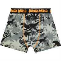 Character Детски Боксерки 1Бр. Опаковка Single Boxer Junior Boys Jurassic World Детско бельо