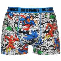Character Single Boxer Mens Justice League Мъжко бельо
