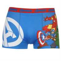 Character Single Boxer Mens Avengers Мъжко бельо