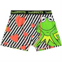 Character Single Boxer Mens Kermit Мъжко бельо