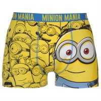 Character Single Boxer Mens Minions Мъжко бельо