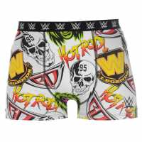 Character Single Boxer Mens WWF Мъжко бельо