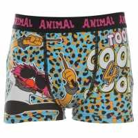 Disney Muppets Animal Single Boxers Infant Boys Animal AOP Детско бельо