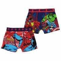 Character 2 Pack Boxers Infant Boys Marvel Детско бельо