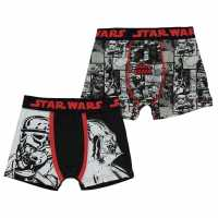 Sale Character 2 Pack Boxers Infant Boys Star Wars Детско бельо