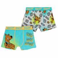 Character 2 Pack Boxers Infant Boys Scooby Doo Детско бельо