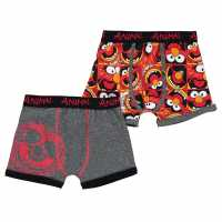 Character 2 Pack Boxers Infant Boys Muppets Детско бельо