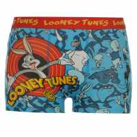 Warner Brothers Боксерки Малки Деца Tunes Single Boxer Shorts Infant Blue Детско бельо
