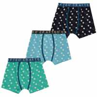 Crafted Essentials 3 Pack Boxers Infant Boys Stars Детско бельо