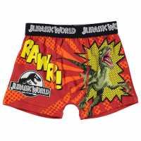 Character Боксерки Момченца Single Boxer Infant Boys Jurassic World Детско бельо