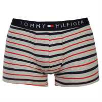 Tommy Hilfiger Stripe Trunk Gry/Red/Nvy Мъжко бельо