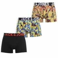 Jack And Jones 3 Pack Julian Trunks Mutli Мъжко бельо