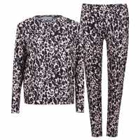 Miso Top And Cuffed Joggers Tracksuit Loungewear Co Ord Set Pink Дамски пуловери