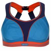 Shock Absorber Дамски Спортен Сутиен Run Sports Bra Ladies Purple/Blue Спортни сутиени