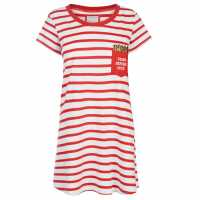 Rock And Rags Fun Nightdress Stripes Дамски пижами