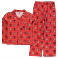 Team Woven Pyjama Set Child Boys Arsenal Детски пижами