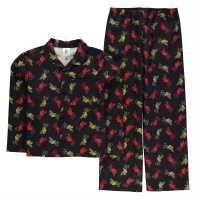 Team Woven Pyjama Set Child Boys Liverpool Детски пижами