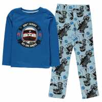 Lego Wear Pyjama Set Childrens Blue-Ninjago Детски пижами