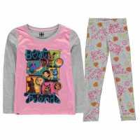 Lego Wear Pyjama Set Child Girls Pink Friends Детски пижами