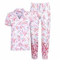 Nora Rose Floral Print Pyjama Set  Дамско облекло плюс размер
