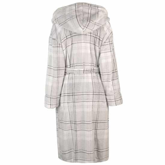 19e3bc457ca Maison De Nimes S Sof Chk Robeld84 Grey Дамски пижами
