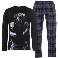 Character Мъжки Комплект Пижама Pyjama Set Mens DC Comics Мъжки пижами
