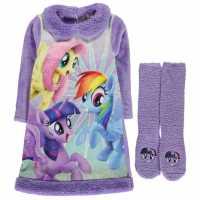 Character Nightie And Sock Set Infant Girls My Little Pony Детско облекло с герои