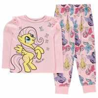 Character Long Sleeve Pyjama Set Childrens My Little Pony Детско облекло с герои