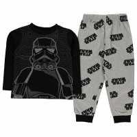 Character Long Sleeve Pyjama Set Childrens Star Wars Детско облекло с герои