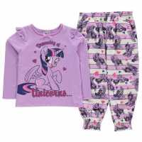 Character Woven Jersey Pyjama Set Infants My Little Pony Детско облекло с герои