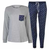 Rock And Rags Дамски Комплект Пижама Table Pyjama Set Ladies  Дамско облекло плюс размер