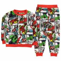 Character Snug Pyjama Set Infants Avengers Детско облекло с герои
