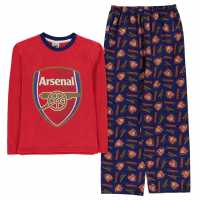 Team Woven Jersey Pyjama Set Child Boys Arsenal Детски пижами
