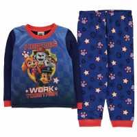 Character Long Sleeve Pyjama Set Infants Paw Patrol Детско облекло с герои
