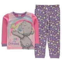 Character Long Sleeve Pyjama Set Infants Tatty Teddy Детско облекло с герои