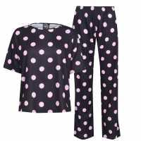 Fabric Wide Leg Pjs  Дамско облекло плюс размер