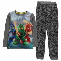 Lego Wear Ninjago Pyjama Set Child Boys Grey Ninjago Детски пижами