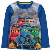 Lego Wear Ninjago Pyjama Set Child Boys Blue Ninjago Детски пижами