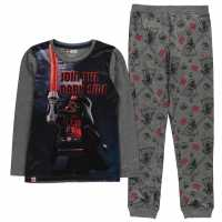 Lego Wear Star Wars Pyjamas Junior Boys Grey Star Wars Детски пижами