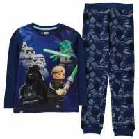 Lego Wear Star Wars Pyjamas Junior Boys Blue Star Wars Детски пижами