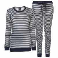 Soulcal Дамски Комплект Пижама Supersoft Pyjama Set Ladies Stripe Дамски пижами