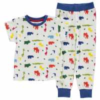 Crafted Essentials Design Pyjamas Infants AOP Jungle Boys Детски пижами