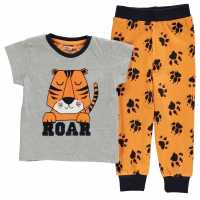 Crafted Essentials Design Pyjamas Infants Tiger Boys Детски пижами