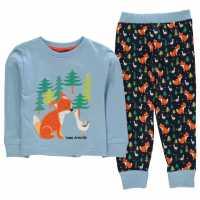 Crafted Design Pyjamas Infants Fox Boys Детски пижами