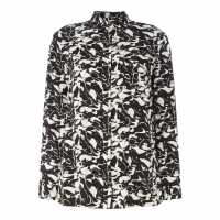Calvin Klein Full Print Button Top  Дамски пижами