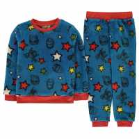 Character Snug Pyjama Set Infants Avengers Детско облекло с герои