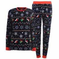 Star Xmas Fam Pj Lds94 Xmas Fairisle Дамски пижами