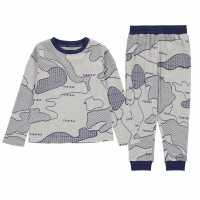 Firetrap Long Sleeve Pyjama Set Infant Boys  Бебешки дрехи