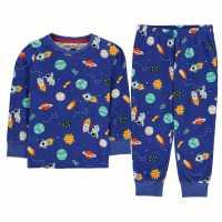 Crafted Essentials Design Pyjama Set Navy Rocket Детски пижами